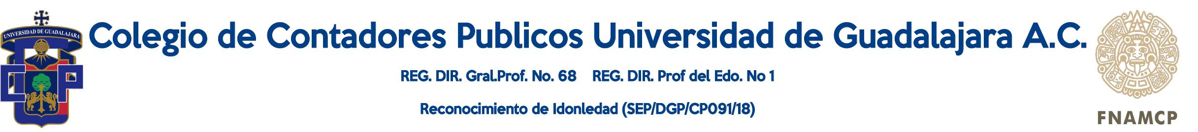 Colegio de Contadores Publicos Universidad de Guadalajara A.C.
